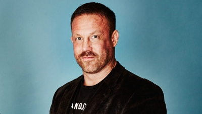 PASADENA, CA - JANUARY 08:  (EDITORS NOTE: This image was processed using digital filters) Professional wrestlers Chris Melendez (L) and Ken Anderson from 'TNA Impact Wrestling' pose for a portrait during the 2015 Winter TCA Tour at the Langham Hotel on January 8, 2015 in Pasadena, California.  (Photo by Maarten de Boer/Getty Images)